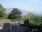 Gartenanlage vor dem Livadija-Palast