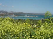 Blick auf die Costa Smeralda