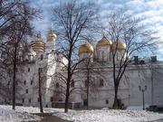 leuchtende Kreml-Türme