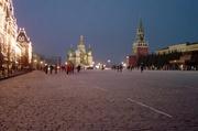 Roter Platz am Abend