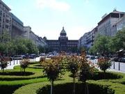 Wenzelsplatz und Nationalmuseum