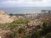 Blick auf Stegna-Beach
