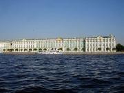 Winterpalast von der Flussseite