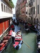 Rush hour auf dem Kanal