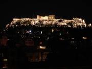 Akropolis am Abend
