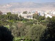 Agora und Hephaistos-Tempel