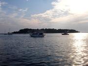 Blick auf die Insel Sv Nikola