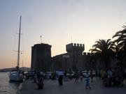 Abendstimmung an der Festung Kamerlengo