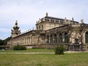 auf dem Heimweg: Dresdener Zwinger