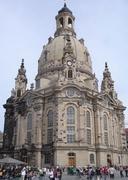 auf dem Heimweg: Frauenkirche in Dresden