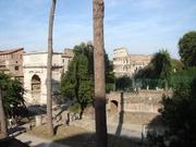 Titusbogen und Kolosseum