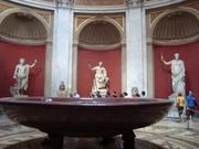 in den vatikanischen Museen