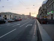 Nevskij-Prospekt um 23.00 Uhr