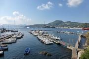 Blick auf Lipari-Stadt