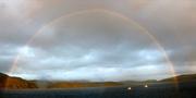 malerischer Regenbogen