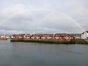Regenbogen über Svinøya