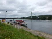Rovaniemi: am Ufer des Ounaskoski