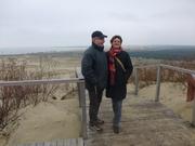 Karin und Werner auf der Düne
