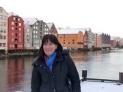 Ann-Karin am Nidelvaufer