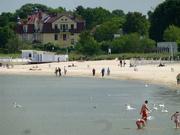 Strandleben in Zoppot