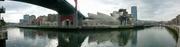 in der Mitte das Guggenheim-Museum
