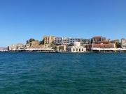 Blick auf den Venezianischen Hafen