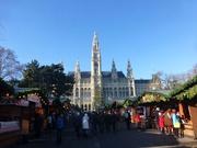 Rathaus hinter dem Silvesterpfad