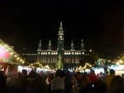 Silvester vor dem Rathaus