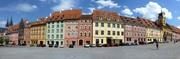 Häuserzeile in Eger