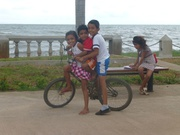 wissensdurstige Kinder am Lago Nicaragua