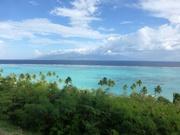 Blick auf Tahiti