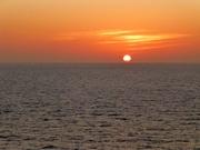 und wieder ein Sonnenuntergang
